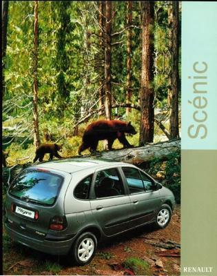 Brochure Renault Mégane Scénic 1999