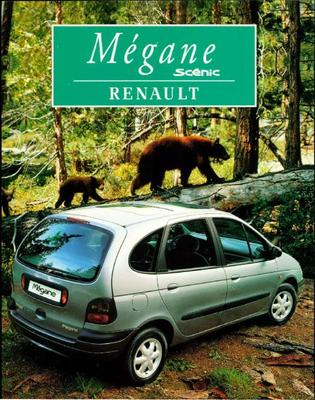 Brochure Renaullt Mégane Scénic