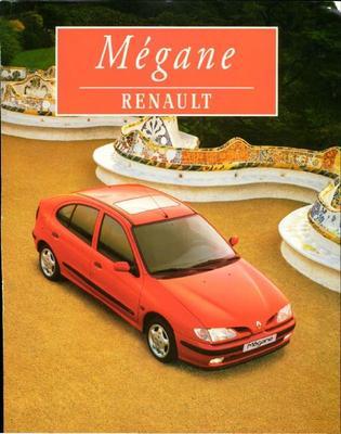 Brochure Renault Mégane 1996-10