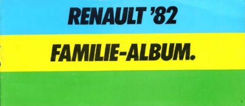 Brochure Renault 1982