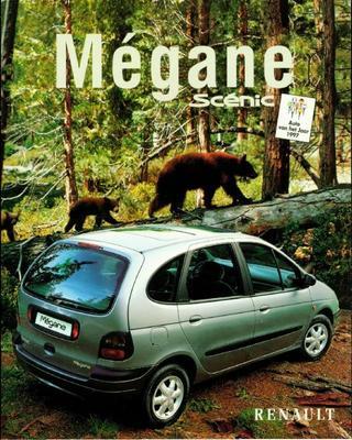 Brochure Renault Mégane Scénic 1997