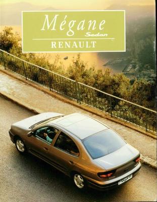 Brochure Renault Mégane Sedan 1996