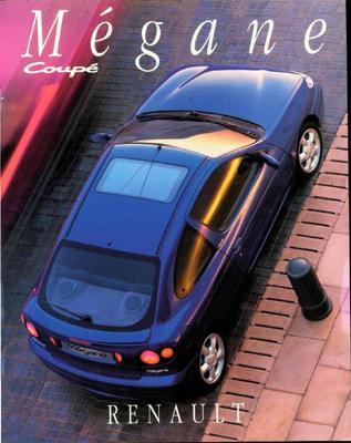 Brochure Renault Mégane Coupé 1996