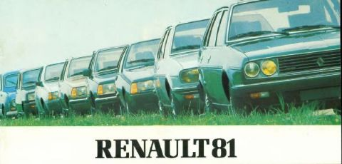 Brochure Renault 1981
