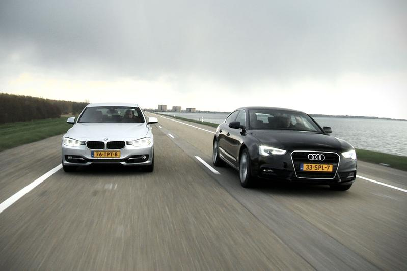 BMW 320i vs Audi A5 Sportback