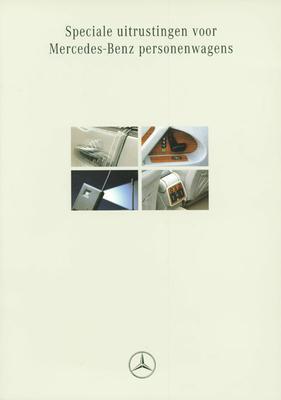 Brochure Mercedes-Benz speciale uitrustingen 1994