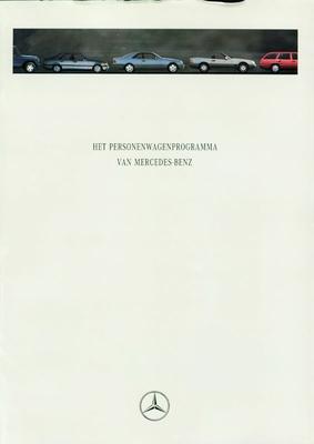 Brochure Mercedes-Benz 1994