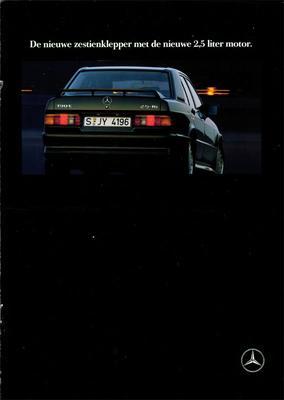 Brochure Mercedes-Benz 190 E 2.5-16 1991