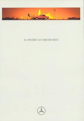 Brochure Mercedes-Benz 190-serie 1992