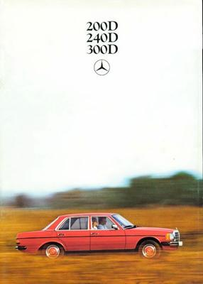 Brochure Mercedes-Benz 200-serie 1979