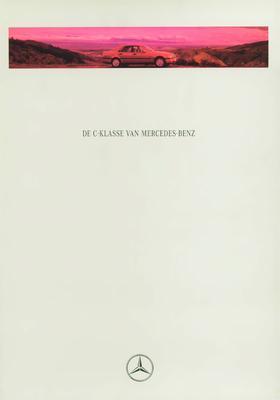 Brochure Mercedes-Benz C-klasse 1994