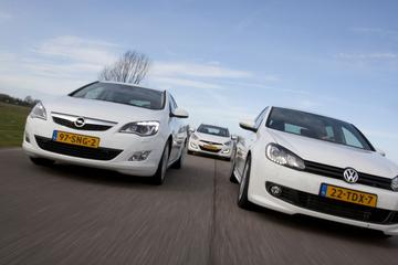 Hyundai i30 1.6 GDI – Opel Astra 1.4 Turbo 140 pk – Volkswagen Golf 1.4 TSI 122