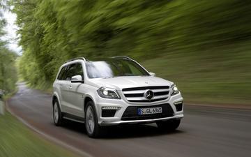 Rap, stijlvol en groot: Mercedes-Benz GL 63 AMG