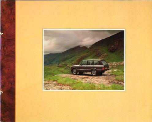 Land Rover Range Rover Four Door,voguo D,vogue,vog
