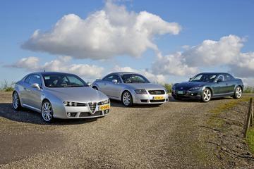 Alfa Romeo Brera 2.2 JTS Sky Window - Audi TT Coupé 1.8T 5V Quattro - Mazda RX-8