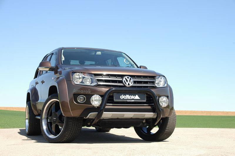 Delta4x4 zet Volkswagen Amarok op hoge hakken