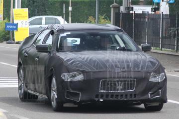 Maserati werkt aan kont van nieuwe Quattroporte