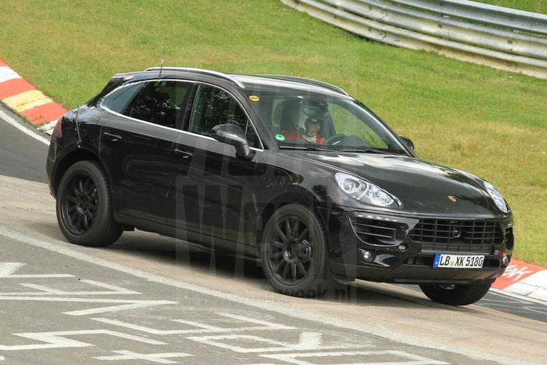 Porsche Macan maakt debuutrondes op de Nürburgring