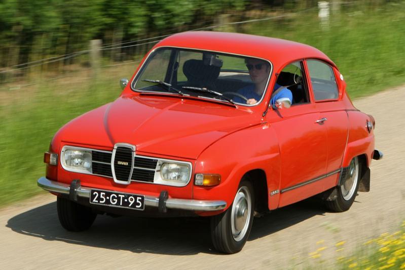 Win een vakantiekar - Saab 96
