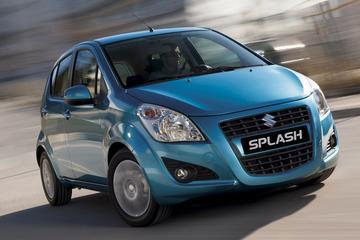 Vernieuwde Suzuki Splash trekt lange neus
