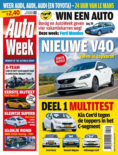 AutoWeek 25 2012