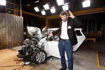 Veiligheid bij elektrische auto's