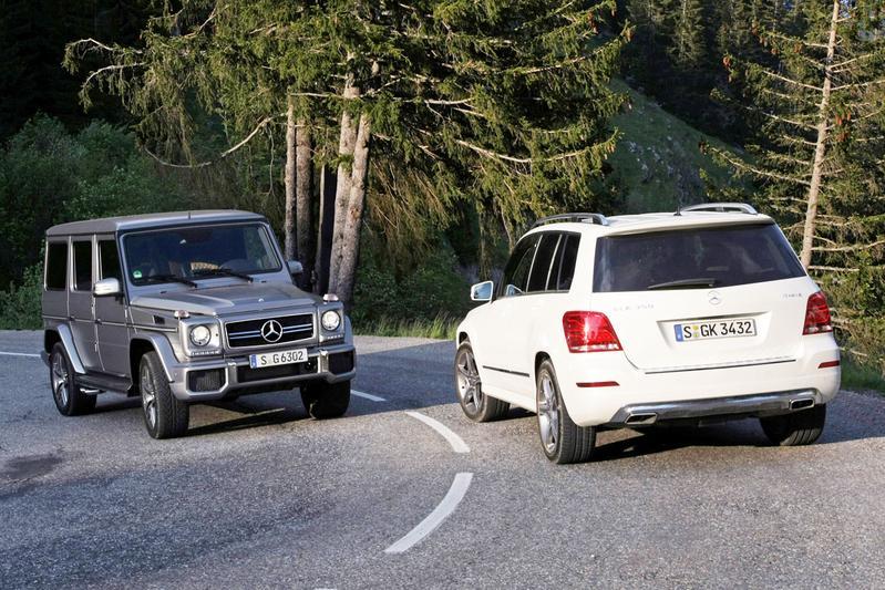 Mercedes-Benz GLK & G