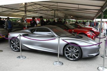 Infiniti op Goodwood: eind 2016 'halo car'
