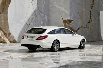 Mercedes CLS Shooting Brake gelekt