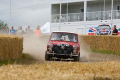 Goodwood - De rallystage op het Festival of Speed