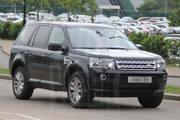 Land Rover Freelander gaat facelift tegemoet