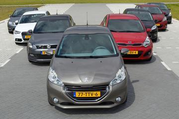 Peugeot 208 - Kia Rio - Opel Corsa - Seat Ibiza - Toyota Yaris