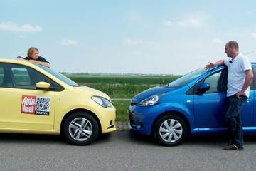 Seat Mii vs Toyota Aygo
