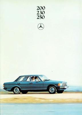 Brochure Mercedes W123 200-230-250