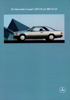 Brochure Mercedes Coupé 1990