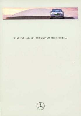 Brochure Mercedes S-klasse 1995