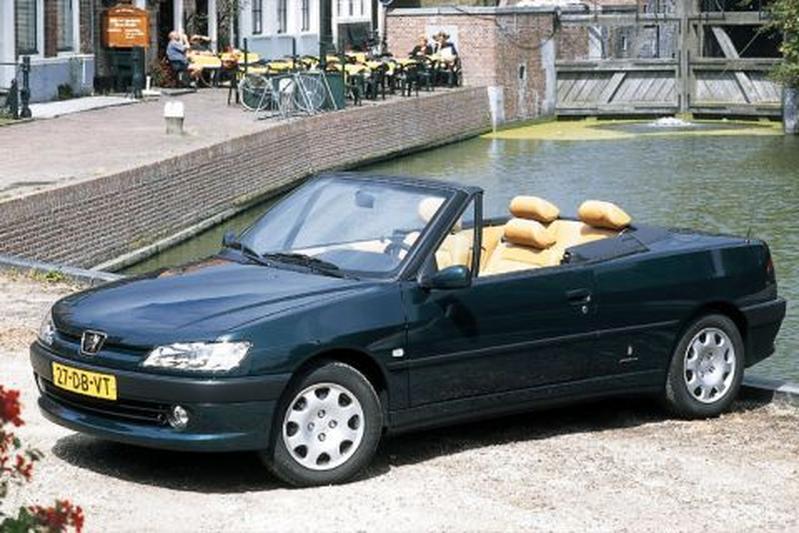 peugeot 306 cabriolet 1 6 1999 autotest. Black Bedroom Furniture Sets. Home Design Ideas