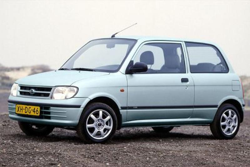 Daihatsu Cuore XTi-12V (1999) | Autotest - AutoWeek.nl