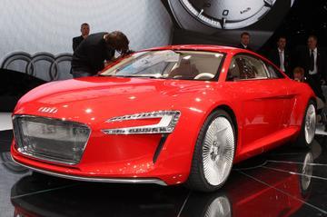 Audi e-Tron op de AutoRAI
