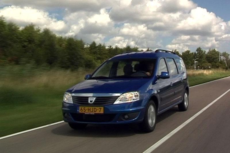 Rij-impressie Dacia Logan MCV