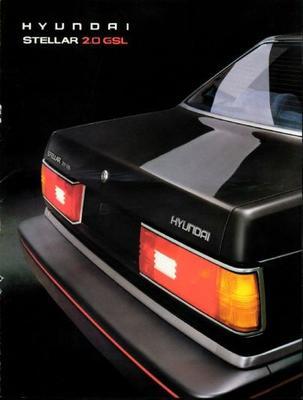 Hyundai Stellar 2.0gsl