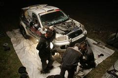 Dakar 2009 - One night in Bivouac