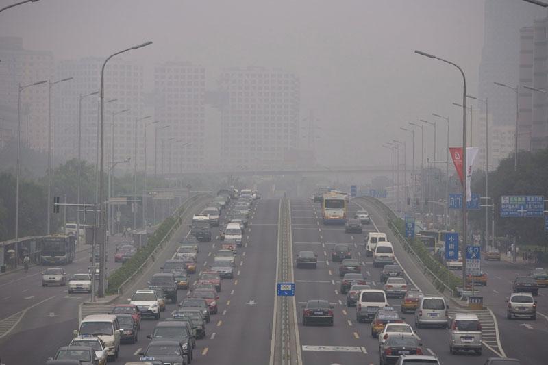 Het wordt maar niet schoon in Peking