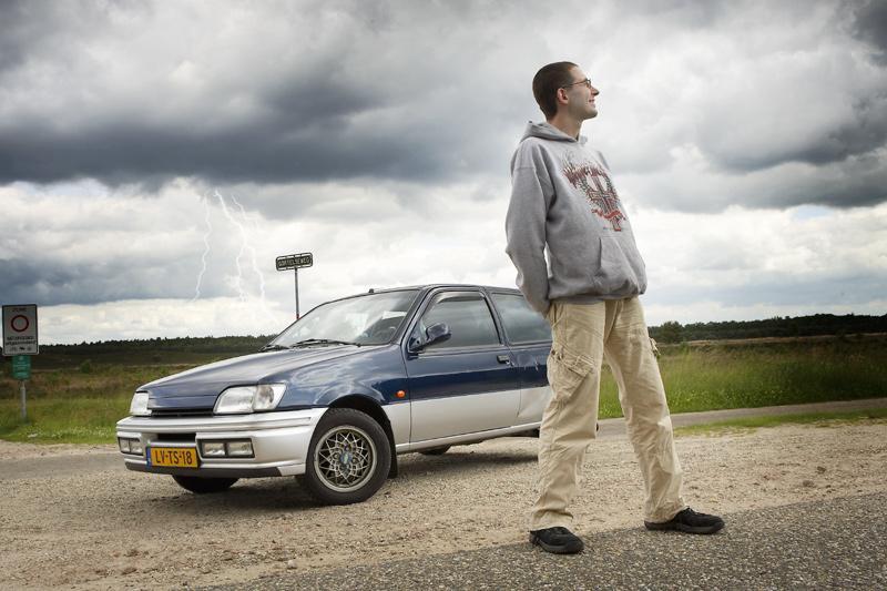 Klokje rond Ford Fiesta