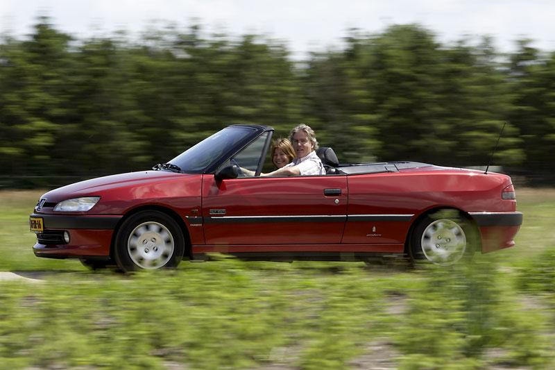 Klokje rond Peugeot 306 Cabriolet