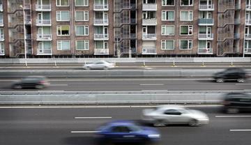 GroenLinks wil deel A10 slopen voor woningen