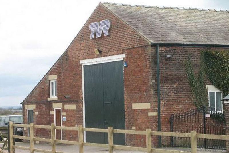 TVR - de nieuwste fabriek