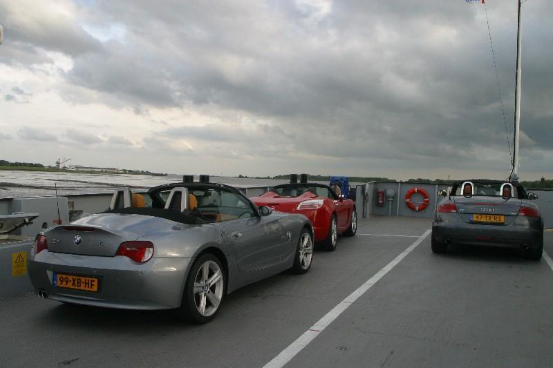 Op de Elbefähre.