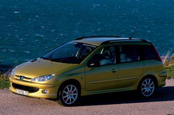 Peugeot 206 SW One-line 1.4 (2006)