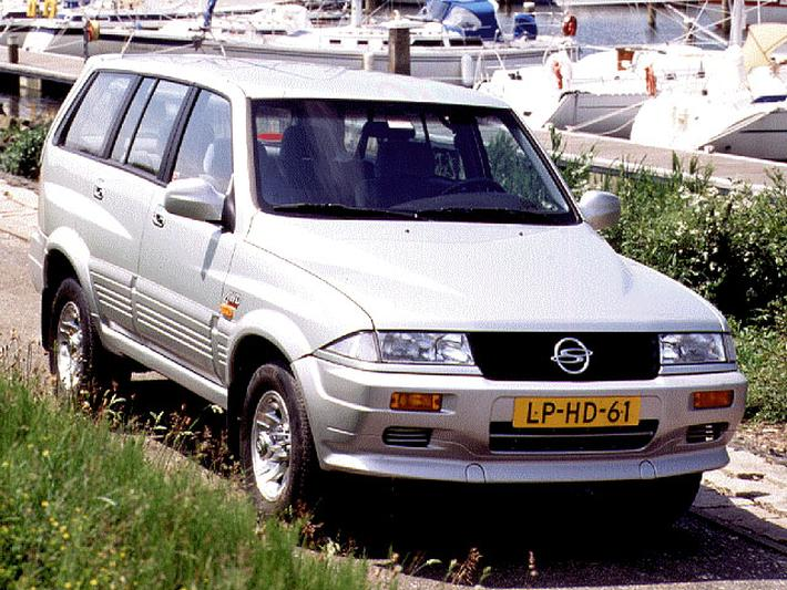 SsangYong Musso 602 ELX (1995)